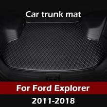 MIDOON – tapis de coffre de voiture pour Ford Explorer 2011, 2012, 2013, 2014, 2015, 2016, 2017, 2018, intérieur, accessoires