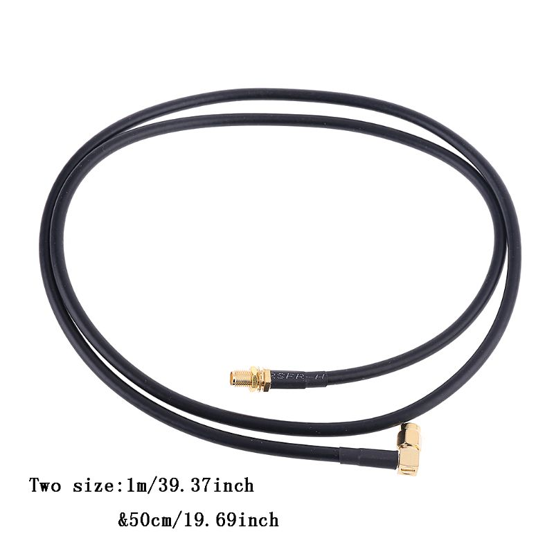 Tactic Antenna SMA-M To SMA-F Coaxial Connection Cable For UV-5R UV-82 UV-9RPlus
