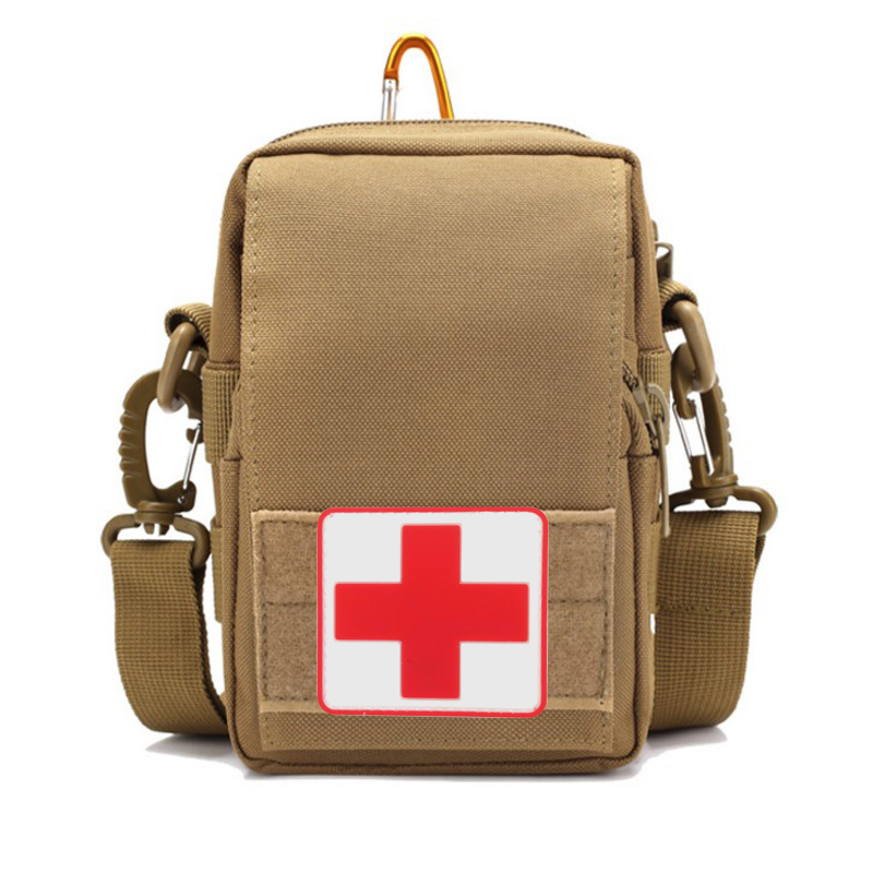 Outdoor Survival Tactical Medicine Chest First Aid Kit Medical EMT Cover Emergency Military Package Hunting Utility Belt Bag