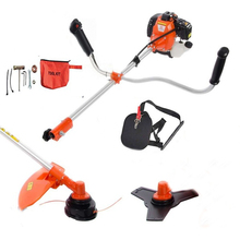 LAWN MOWER 2 in 1 Heavy Duty 52cc Petrol Powered Strimmer, Grass Trimmer, Brush Cutter