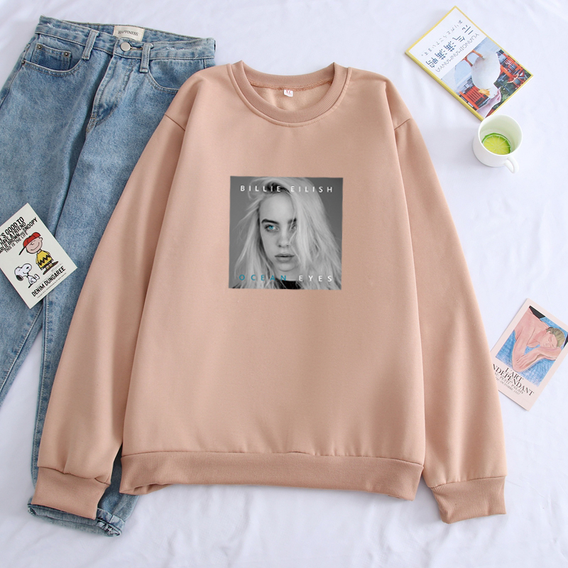 Billie Eilish Hoodies Print Men Streetwear Sweatshirt Clothes Sudadera Hombre Casual Hoodie Man Hip Hop Unisex Sweatshirts