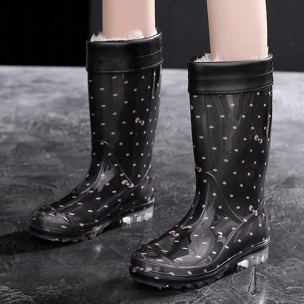 Warm Rain Boots Women