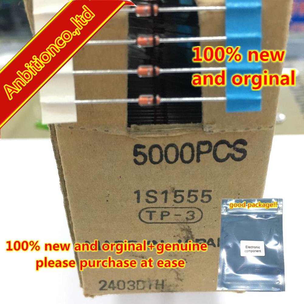 20pcs  100% New And Orginal  1S1555 DO-35 SWITCHING DIODES In Stock