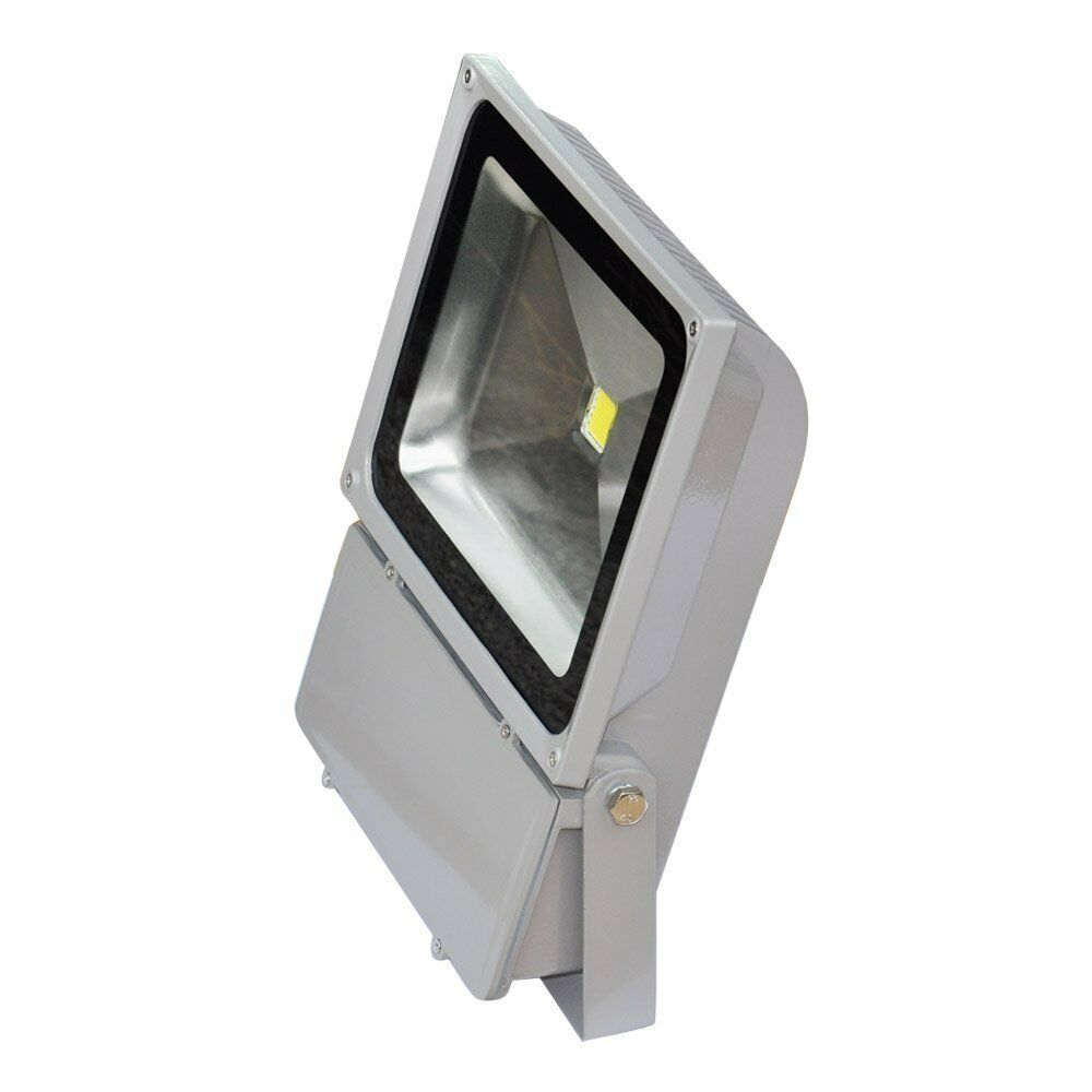 100W LED Flood Light Outdoor Garden Lamp Waterproof Spotlight With Plug