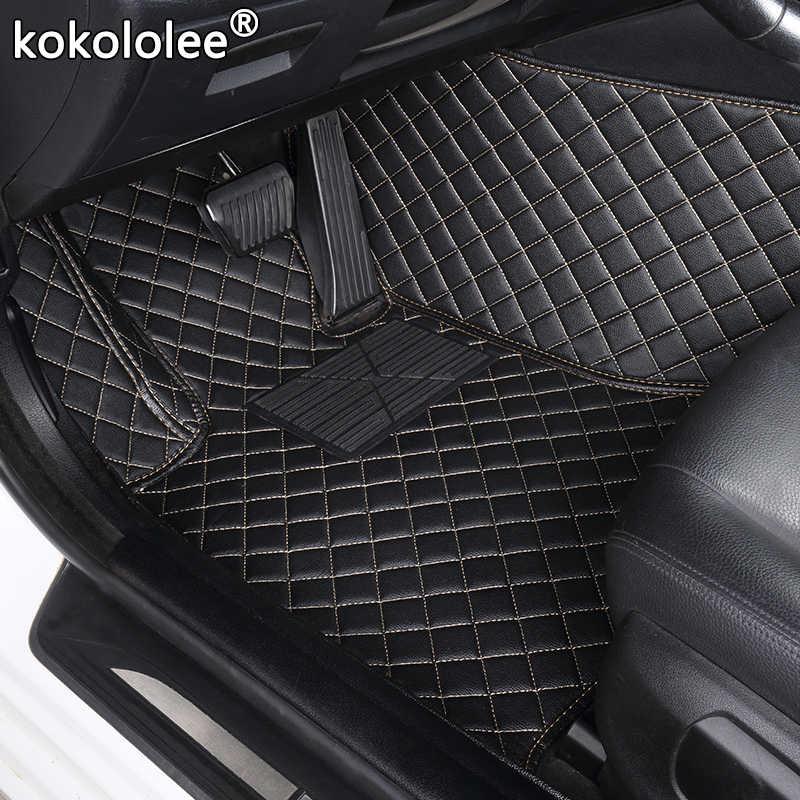 사용자 정의 자동차 바닥 매트 Kia Rio K3 K5 K7 Sportage Soul Cerato Forte Opirus Optima Sorento Carens 카니발 Bongo3 카니발 발