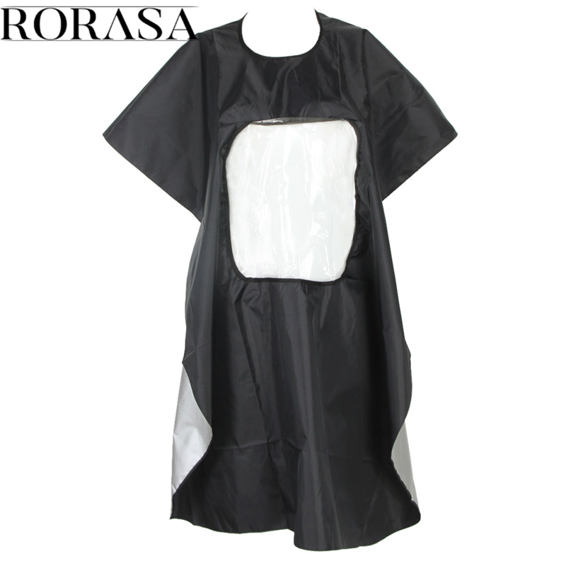 1Pcs Hot Black Professional Hairdressing Barber Cape Apron Hairdressing Hair Cutting Gown Cape Waterproof Cloth For Barber Apron