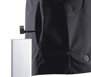 Image 3 - Xiaomi nowa zimowa kurtka puchowa inteligentna regulacja temperatury kurtka gęsia odzież puchowa może być prana