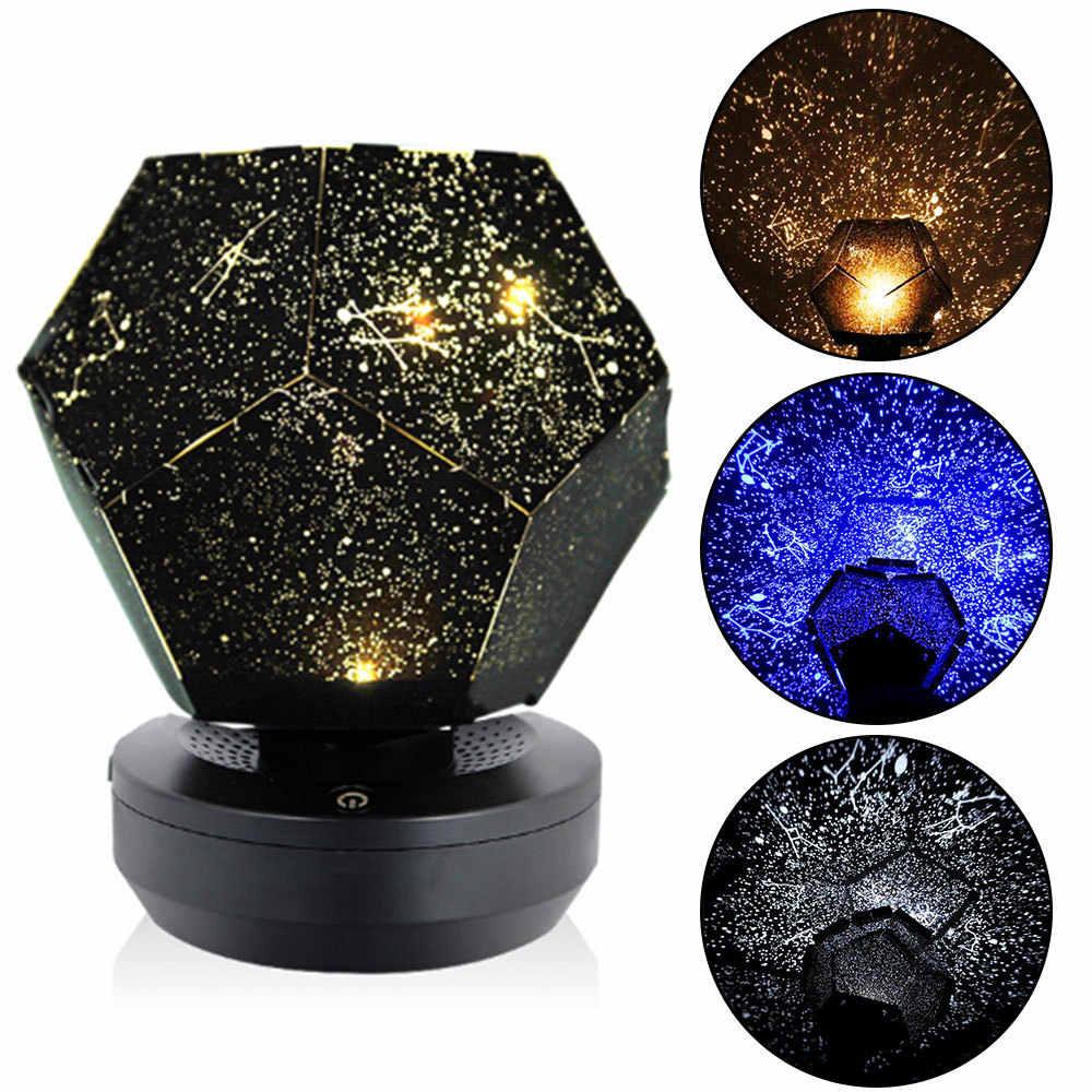 Sky Projektor LED Magie Nacht Lampe Sternenlicht Galaxy ...