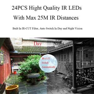 Image 5 - 1080P Hd 2MP Wifi Audio Ip Camera Draadloze 720P Outdoor Bullet Cctv Camera Surveillance Beveiliging Waterdicht Nachtzicht camera