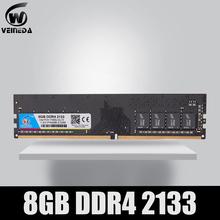 VEINEDA dimm Desktop ram ddr4 8GB pamięć 2133 2400 2666MHz 1 2V obsługa płyty głównej ddr4 tanie tanio CN (pochodzenie) 2400 mhz Pulpit NON-ECC 15-17-17-35 288pin one year Pojedyncze 1 2 V 2400MHz