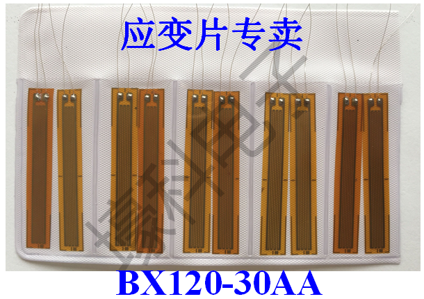 10 Pieces BX120-30AA Concrete Strain Gauges/foil Resistance Strain Gauges/rock Strain Gauges