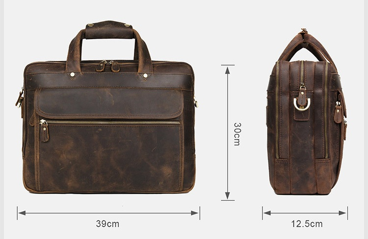 Hd60f57df72e54b7b9642482e56bcbafeP MAHEU Vintage Leather Mens Briefcase With Pockets Cowhide Bag On Business Suitcase Crazy Horse Leather Laptop Bags 2019 Design