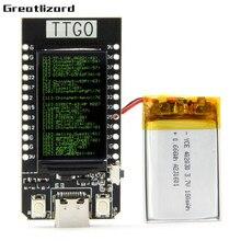 TT-GO T-DISPLAY esp32 lcd diy entusiasta placa de desenvolvimento para arduino wifi e para bluetooth módulo duplo acessórios novo