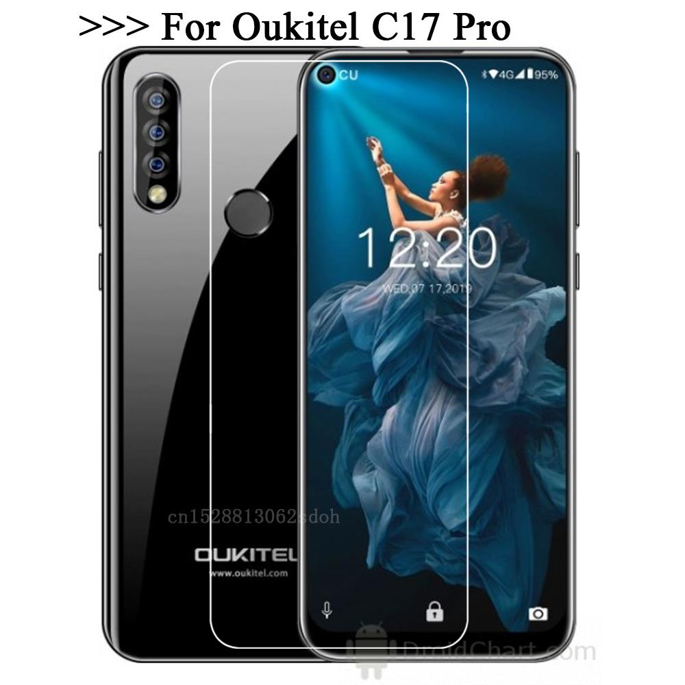 Tempered Glass 2.5D 9H For Oukitel C17 Pro Scratch Proof Screen Protector For Oukitel C 17 Pro