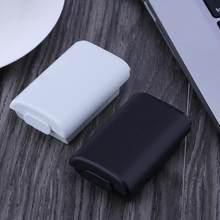 Bateria recarregável caso capa para xbox 360 máquina de jogo com adesivo controlador sem fio bateria caso para jogo console adereços