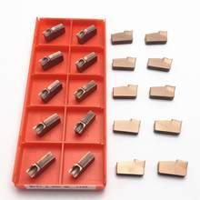 Grooving inserção N151.2-200-4E 1125 N151.2-300-4E 1125 N151.2-400-4E 1125 carboneto de inserção de viragem Grooving ferramenta 100% alta qualidade