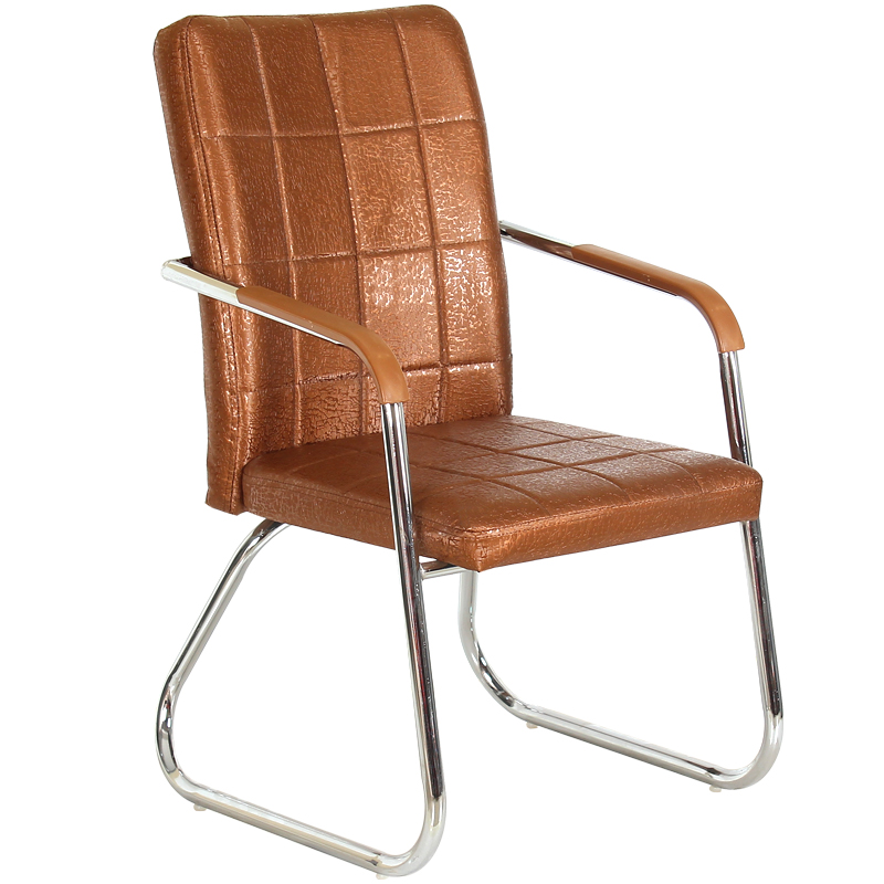Computer Chair Home Bow Office Chair Modern Simple Leather Meeting Staff Chair Student Dormitory Chair Backrest Chair