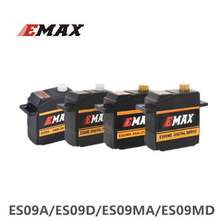 4 stuks EMAX ES09A ES09D ES09MA ES09MD Servo Dual-Dragende Specifieke Swash Voor Trex 450 RC Helikopters(China)