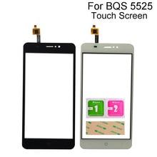 Touch Panel Sensor For BQ Mobile BQS 5525 Practic BQ 5525 Touch Screen Digitizer Front Glass Touchscreen touch screen for bq bq 4072 bq 4072 strike mini bqs 4072 bqs4072 sensor touchscreen digitizer panel front glass protector film