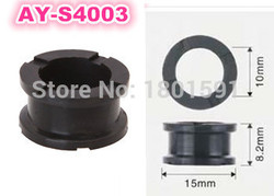 500pieces/set  fuel injector sevice kit of RUBBER SEALS O-RING for honda  engine  (AY-S4003,15*10*8.2mm)