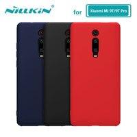 Für Xiaomi Mi 9T Pro Fall Gehäuse NILLKIN Flüssigkeit Glatte Silikon Fall Für Xiaomi Mi 9T/9T Pro Abdeckung Luxus Schutz Taschen