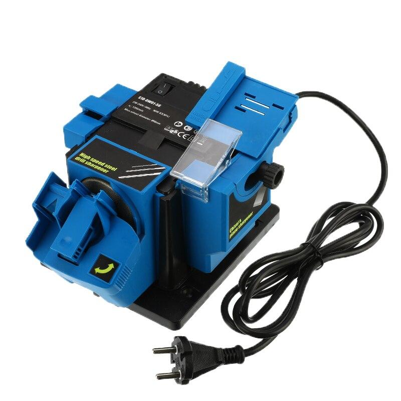 Multifunction Electric Sharpener Drill Sharpening Machine Knife & Scissor Sharpener Power Household Grinding Tools EU Plug