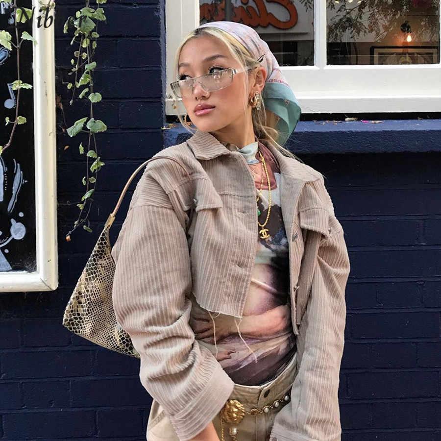 Nibber herbst winter Bomber jacke tops frauen Grundlegende retro stil jacke femme 2020 Dünne boylish high street casual Strickjacke mantel