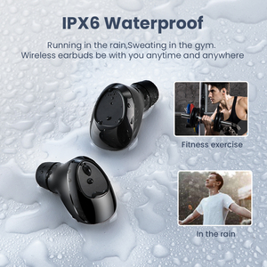 Image 5 - FIVI Bluetooth 5.0 Earphones Wireless Headphones Sport Waterproof Headsets Noise Cancelling Gaming Earbuds For iPhone Xiaomi