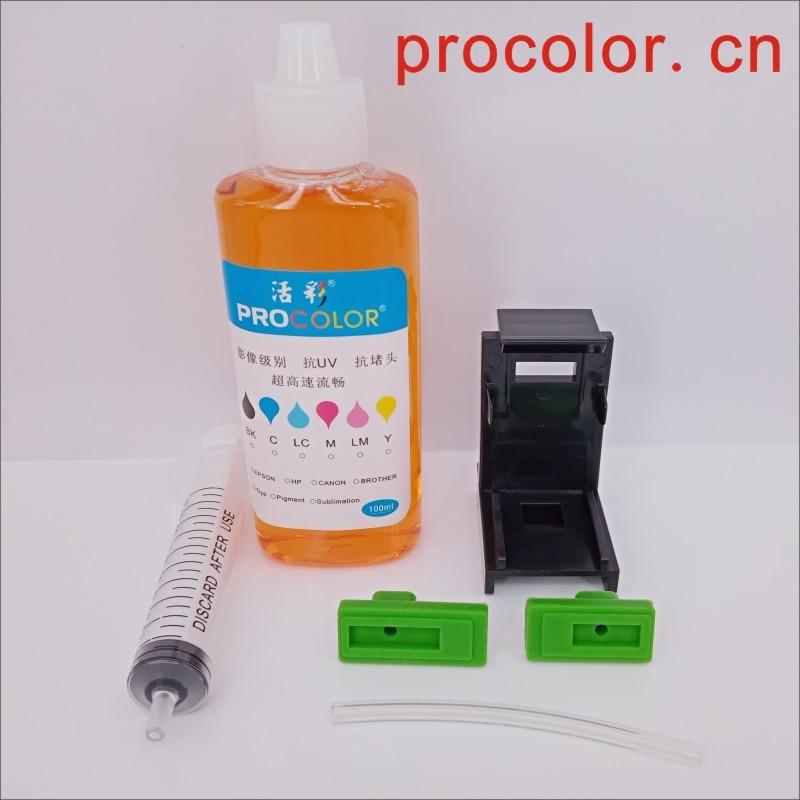 CISS cartucho cabezal de impresión Clip limpiador fluido herramienta para hp 21 22 Deskjet F2180 F2200 F2280 F4180 F300 F380 380 D2300 impresora