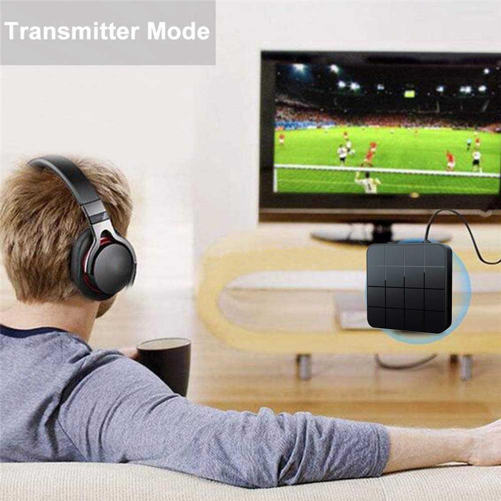 Bluetooth 4.2 5.0 オーディオレシーバー usb 音楽ステレオ無線送信機で 2 1 rca 3.5 ミリメートル 3.5 aux ジャックアダプタ車テレビ MP3 pc
