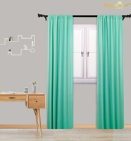 Light Green Chiffon Curtains Living Room 29x120 Inch Picture Backdrop Green Sheer Voile Backdrop Curtain M190918