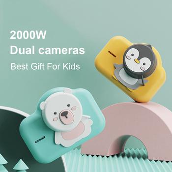 Przenośny aparat dziecięcy aparat cyfrowy aparat fotograficzny Fotograficas do ładowania zdjęcie wideo aparat zabawka dla dzieci aparaty fotograficzne na prezent tanie i dobre opinie Colohas 2x-7x Brak Full hd (1920x1080) 4 3 cali 18-55mm 10 0-20 0MP KC-006 Karty SD Ekran HD 2 -3 Bateria litowa 301g-400g