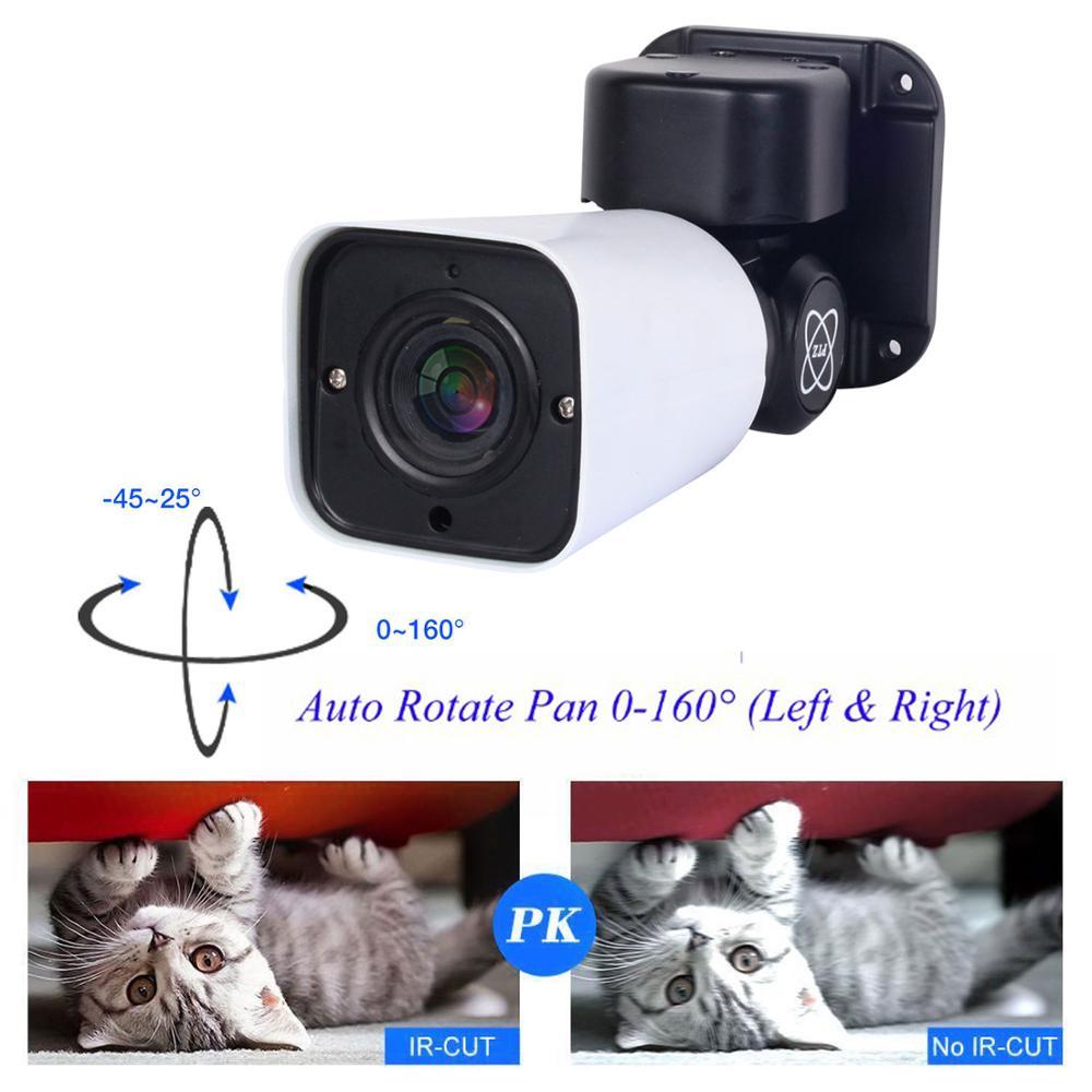 8CH HD NVR 4TB H.265 PTZ 5.0MP POE 4X Zoom system cctv kamera IP wideo na zewnątrz zestaw nadzoru bezpieczeństwa na zewnątrz wodoodporny