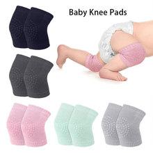 1 Pair Baby Knee Pad Kids Safety Crawling Elbow Cushion Toddler Baby Leg Warmer
