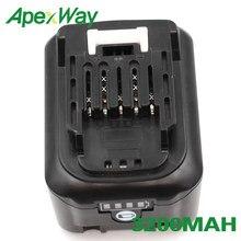 ApexWay 12V BL1041 3200mAh batterie Rechargeable pour Makita BL1040 BL1040B BL1015 BL1020B BL1016 BL1021 + foret électrique cadeau