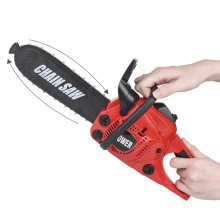 Children Battery Operated Electric Chainsaw Toy Power Construction Tool With Real Engine Sound Kids House Saws Outdoor Lawn Toy