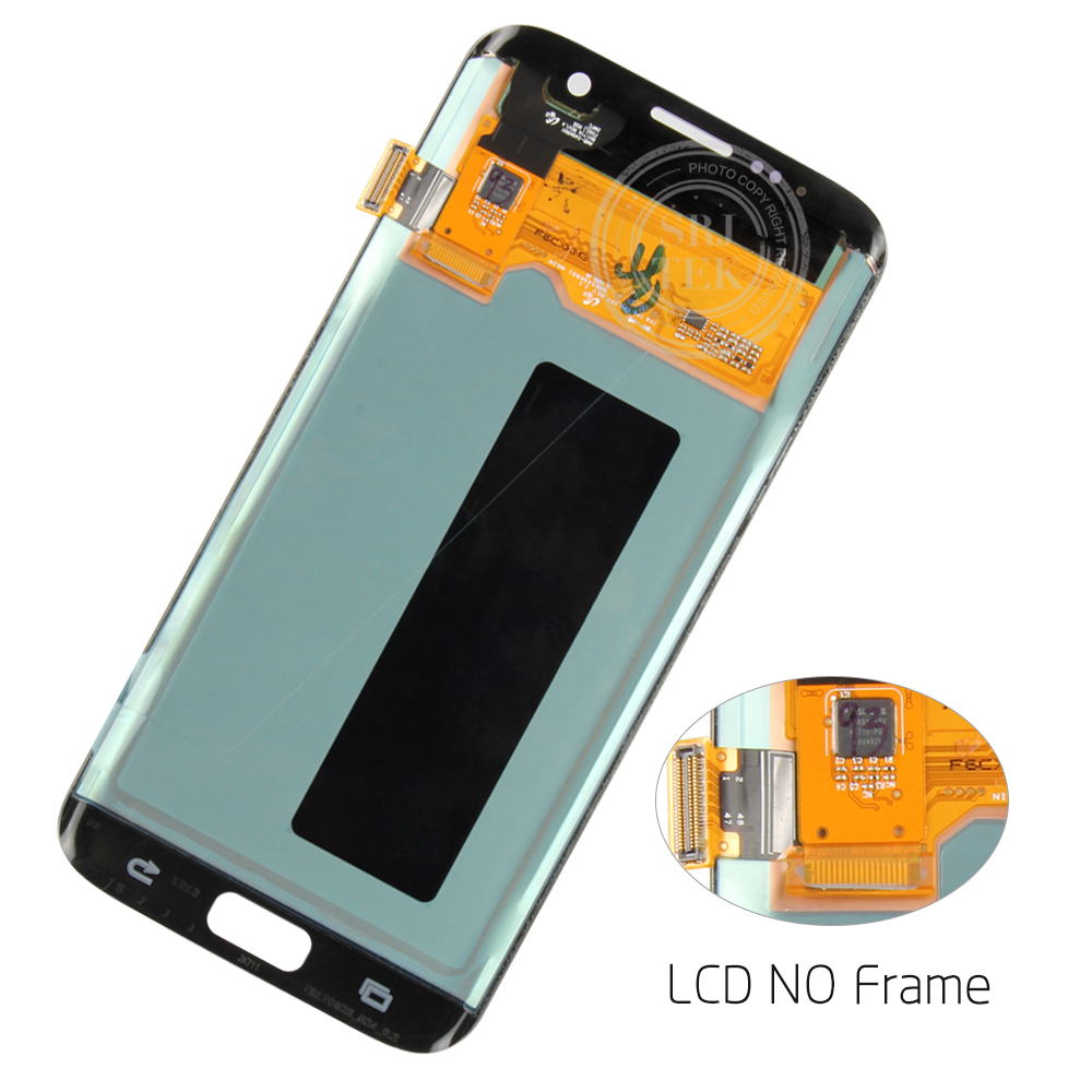 5.5 ORIGINELE AMOLED S7 rand Display Voor SAMSUNG Galaxy S7 Edge Screen Display Touch met Frame Voor SASMSUNG S7 Rand LCD G935F - 4