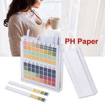 Papel de prueba de Base ácida PH042 0-14 varilla de medición de orina, prueba de aptitud física para la salud, prueba de papel para prueba de pH