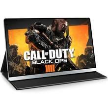 EVICIV – Moniteur portable 4K UHD 15,6 pouces à connexion mini-HDMI, périphérique d'affichage pour Xbox One X/S, PS4 Pro, deuxième écran pour ordinateur portable, pour jouer à Call of Duty 4