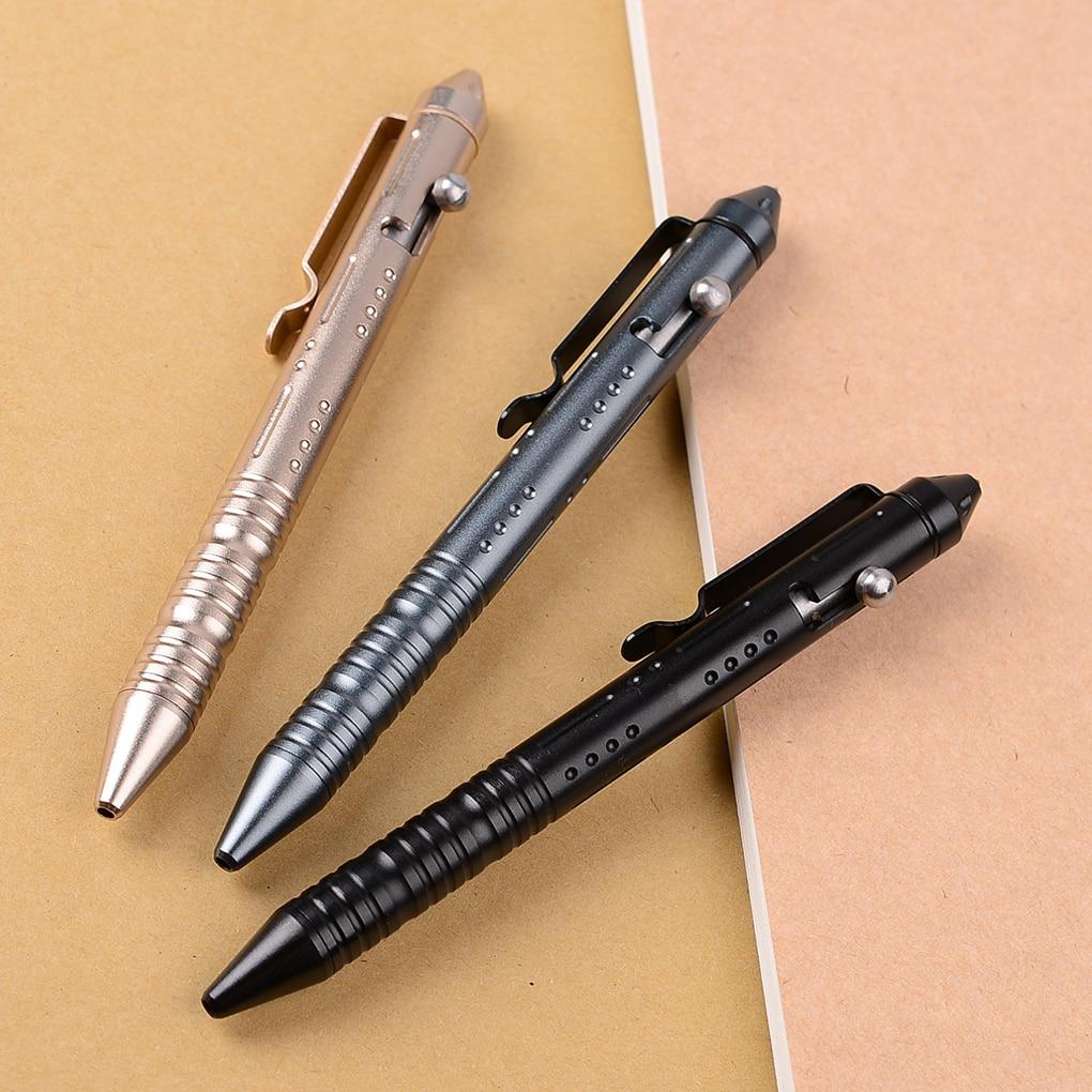 Business Writing Pen Portable Self Defense Outdoor Survival Emergency Window Breaker Glass Breaking Pen