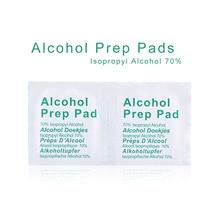 50 шт., портативные профессиональные спиртовые тампоны, влажные салфетки, 70% изопропил, первая помощь, домашнее очищающее средство для кожи, стерилизация