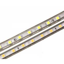 SMD 5050 AC220V LED Strip Flexible Light 60leds/m Waterproof Led Tape LED Light With Power Plug