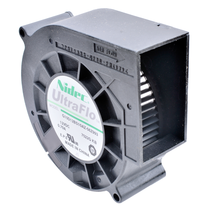 G10D12BS10AZ-56Z993 <font><b>9733</b></font> <font><b>12V</b></font> 0.79A Car Air Purification Turbo <font><b>Blower</b></font> Cooling <font><b>Fan</b></font> image