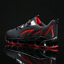Mlcriyg New Running Shoes Blade Cushioning Sneakers for Men Breathable Sports Outdoor Athletic Training Walking