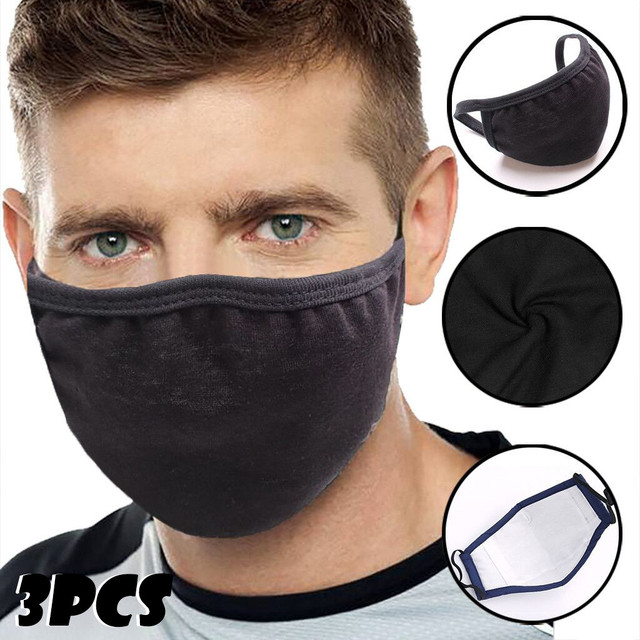 Cotton PM2.5 Anti Haze Mask Anti dust mouth mask Activated Carbon Filter Mouth-muffle Mask Unisex maska Fabric Face Mask