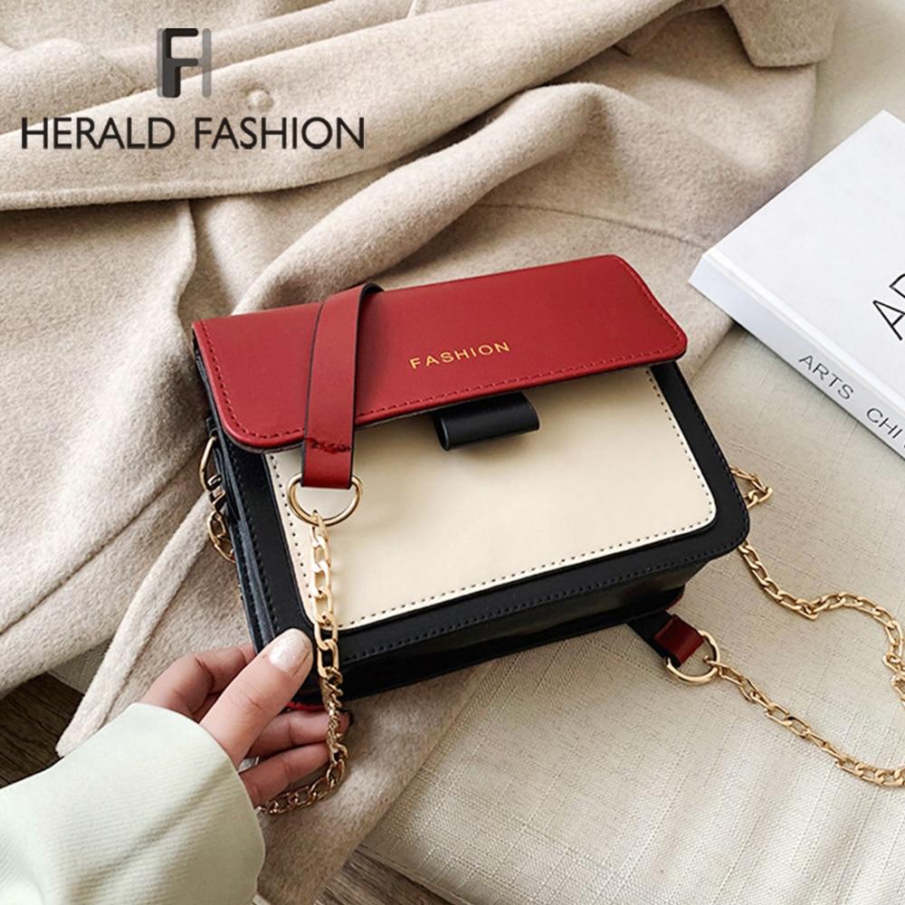 Fashion Vintage Leather Women Bags 2020 Famous Designer England Style Female Shoulder Bag Office Lad
