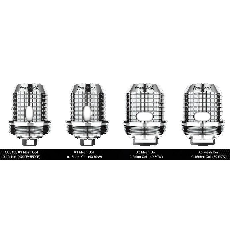 5pcs/pack Freemax Twister Coils Vape X1 X2 X3 X4 TX Replacement Mesh Coil For FreeMax Fireluke 2 Tank For Twister Vaper Kit