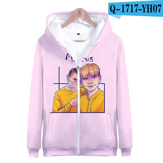 3 To 14 Years Kids Hoodie Marcus and Martinus 3D Hoodies Sweatshirt Boys Girls Fashion Harajuku Jacket Coat Children Clothes 19