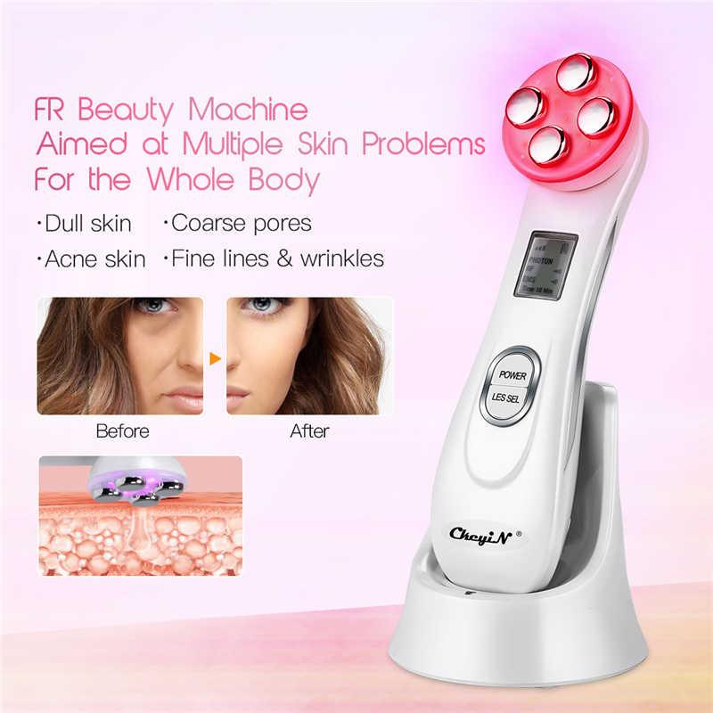 EMS mésothérapie RF radiofréquence dispositif de beauté du visage + ultrasons infrarouge visage corps minceur peau raffermissant masseur gros brûleur