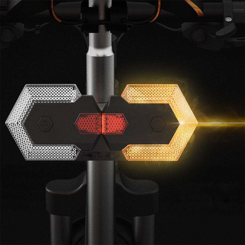 Bike Turn Signals Front and Rear Light with Smart Wireless Remote Control US!